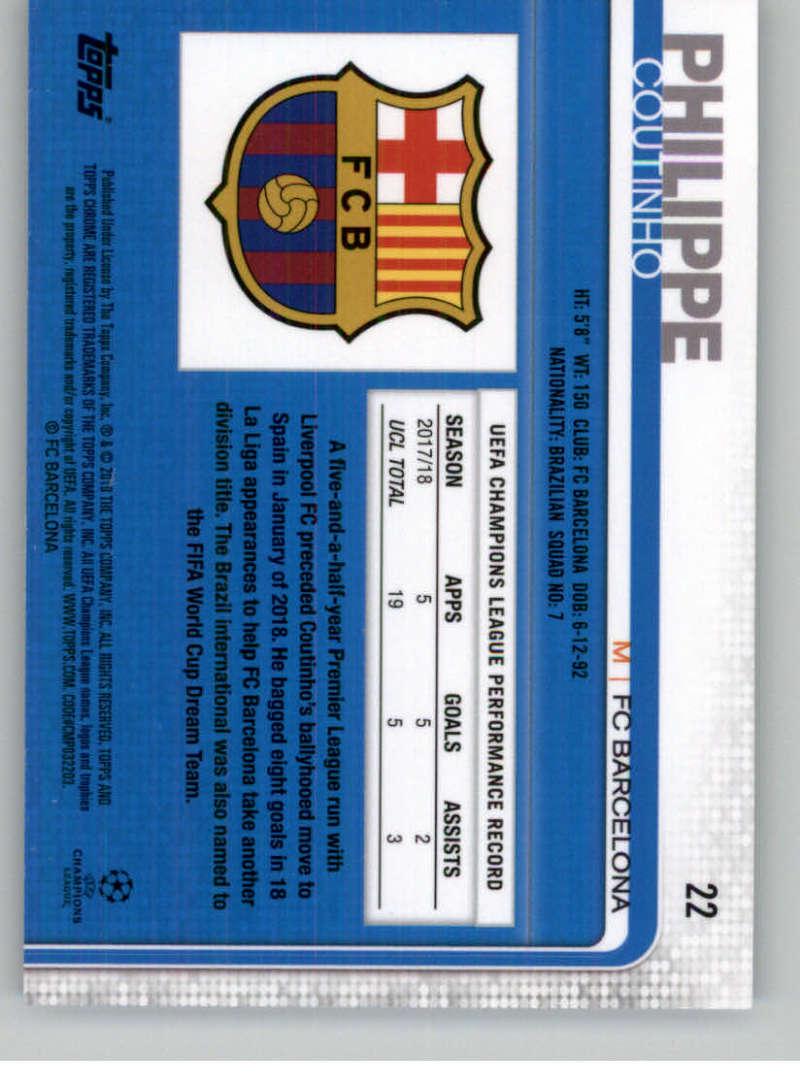 2018-19-Topps-Chrome-UEFA-Champions-Soccer-Base-Set-Cards-Choose-039-s-1-100 thumbnail 37