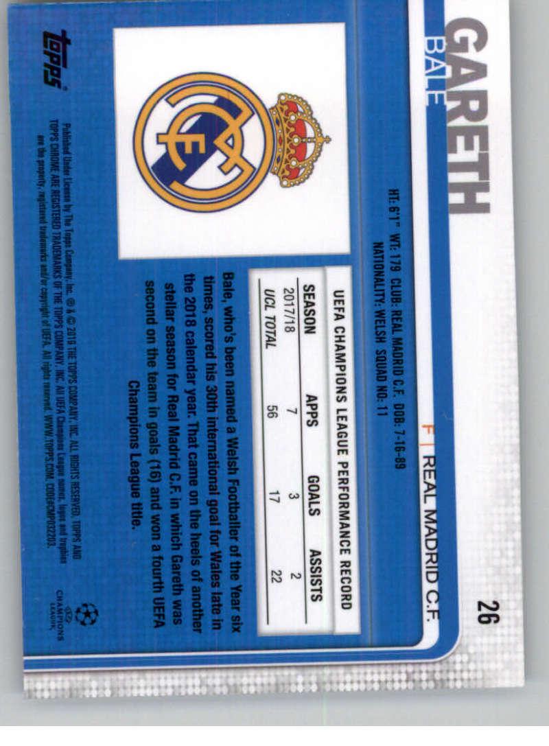 2018-19-Topps-Chrome-UEFA-Champions-Soccer-Base-Set-Cards-Choose-039-s-1-100 thumbnail 43