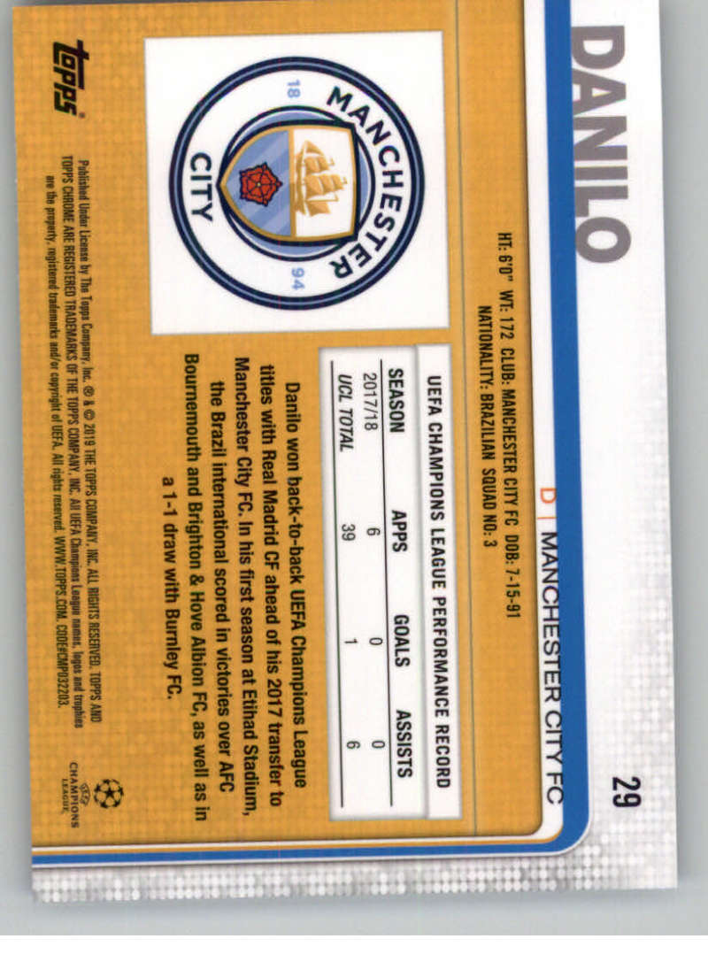 2018-19-Topps-Chrome-UEFA-Champions-Soccer-Base-Set-Cards-Choose-039-s-1-100 thumbnail 47