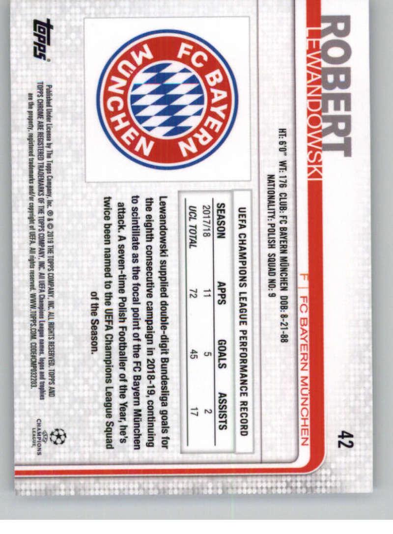 2018-19-Topps-Chrome-UEFA-Champions-Soccer-Base-Set-Cards-Choose-039-s-1-100 thumbnail 73