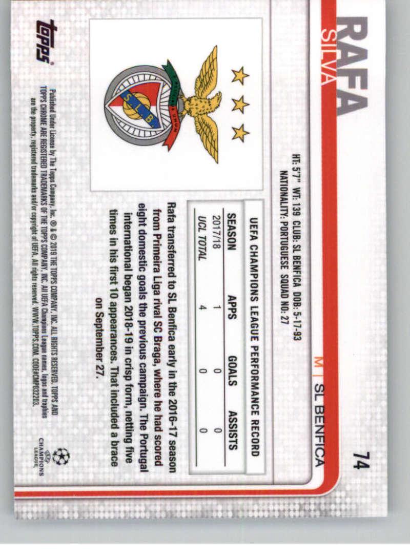 2018-19-Topps-Chrome-UEFA-Champions-Soccer-Base-Set-Cards-Choose-039-s-1-100 thumbnail 135