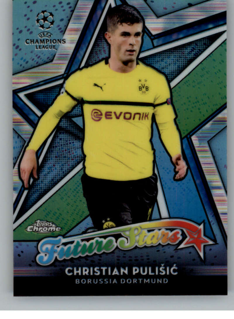 2018-19 Topps Chrome UEFA Champions League Future Stars Refractors