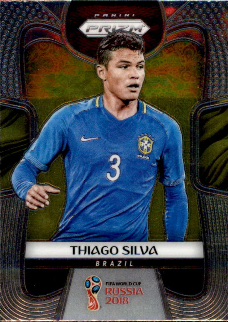 2018 Panini Prizm World Cup #27 Thiago Silva NM-MT+