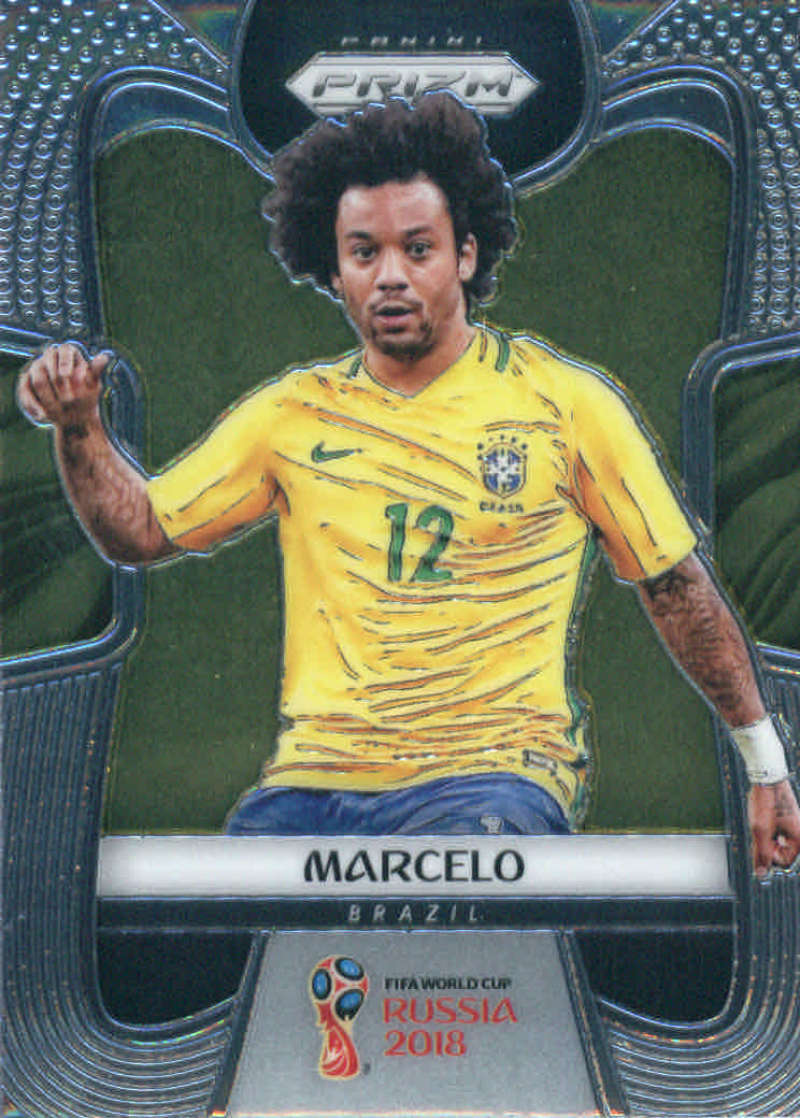 2018 Panini Prizm World Cup #31 Marcelo NM-MT+
