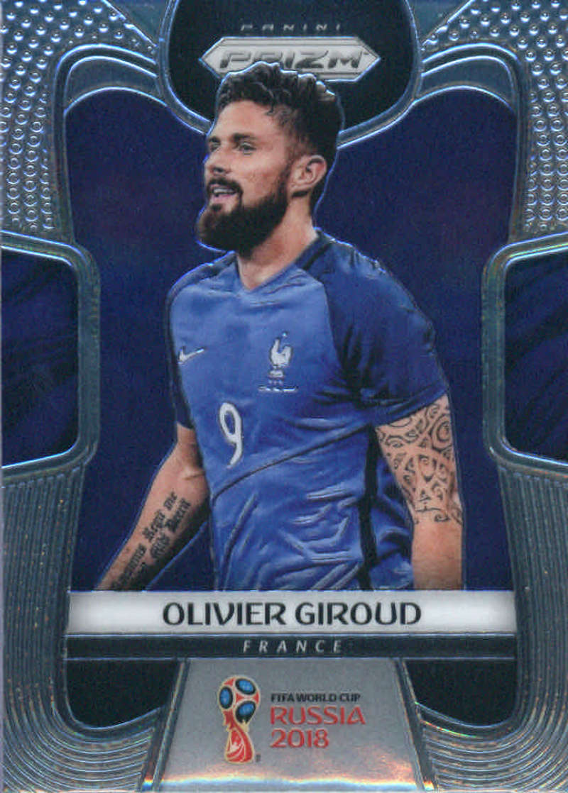 2018 Panini Prizm World Cup #83 Olivier Giroud NM-MT+