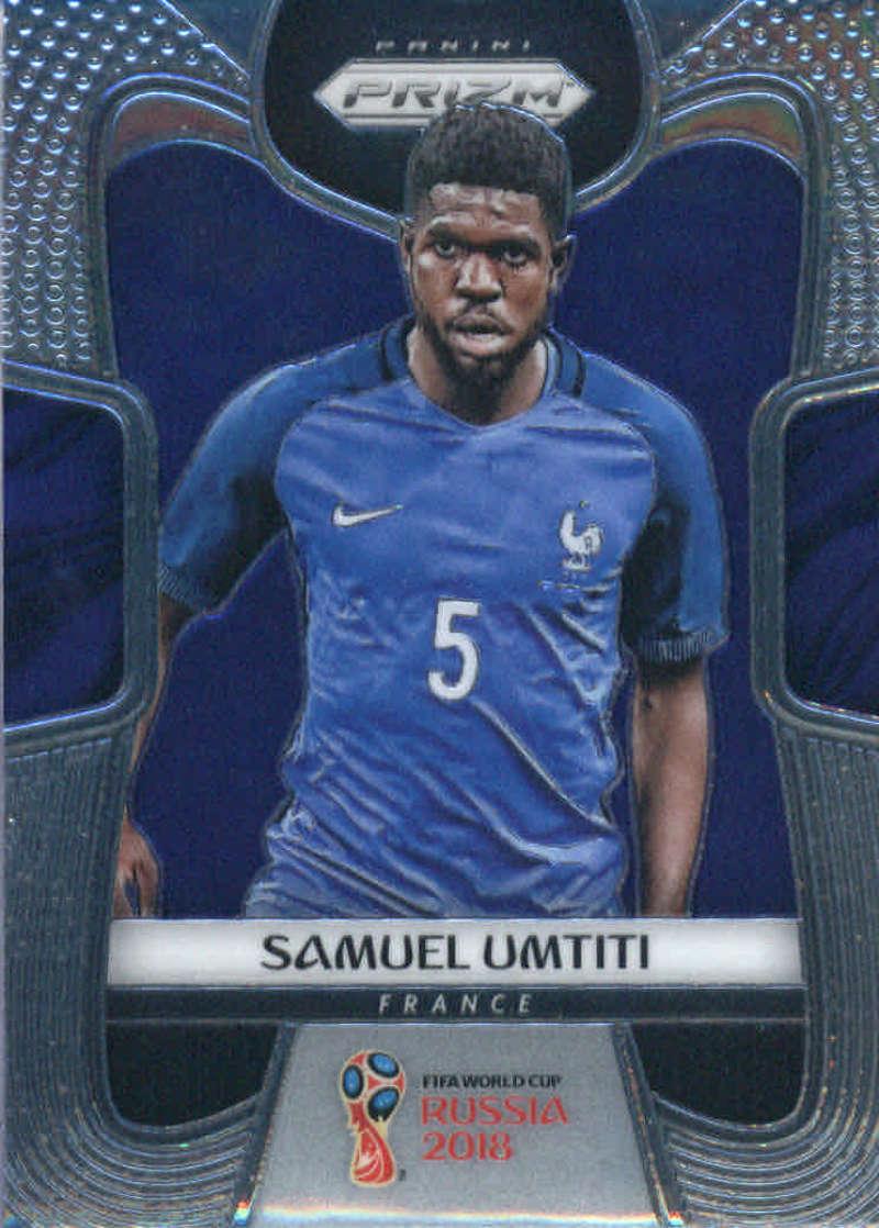2018 Panini Prizm World Cup #86 Samuel Umtiti NM-MT+
