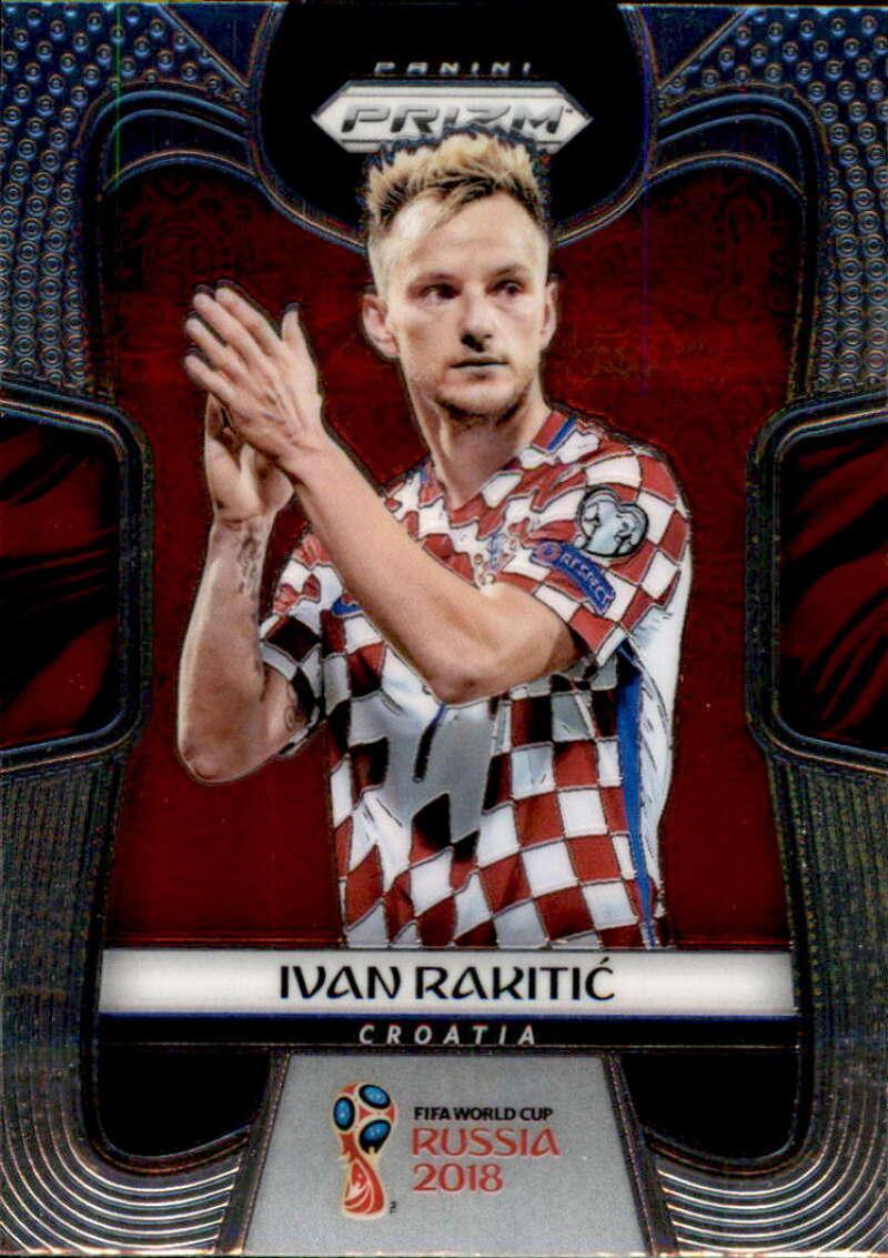 2018 Panini Prizm World Cup #228 Ivan Rakitic NM-MT+