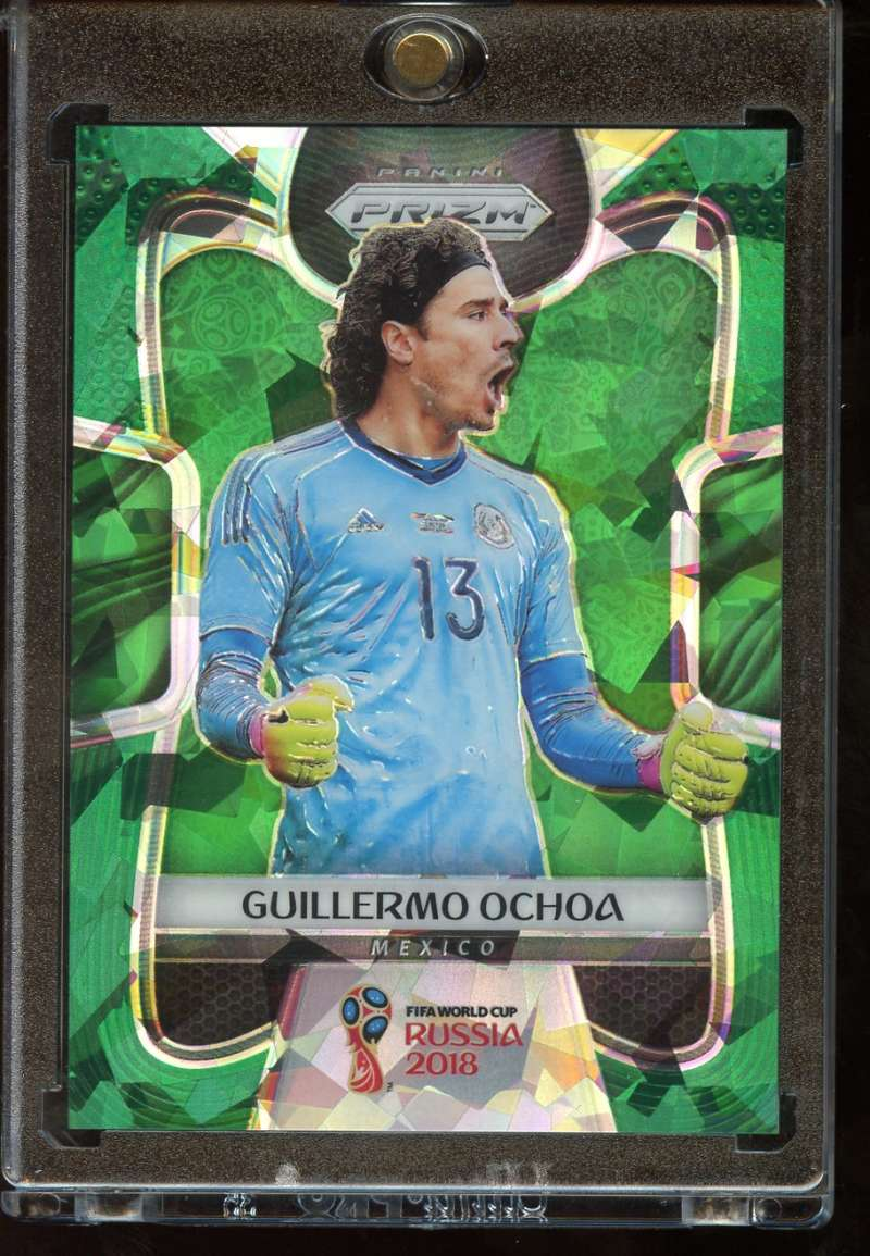 2018 Panini Prizm World Cup Prizms Green Crystals