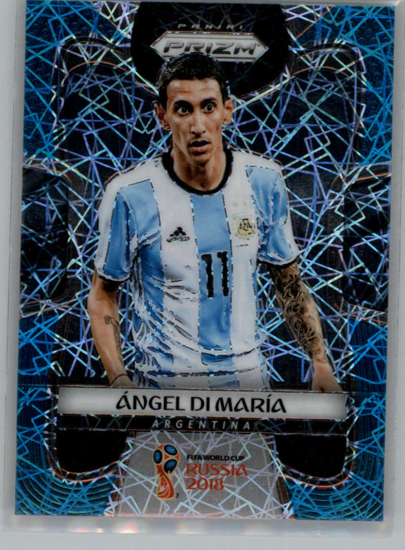 2018 Panini Prizm World Cup Prizms Light Blue Lazer