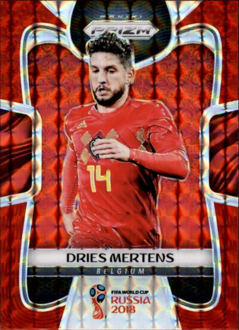 2018 Panini Prizm World Cup Prizms Red Mosaic
