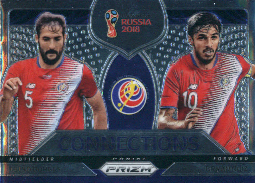2018 Panini Prizm World Cup Connections Prizms Silver