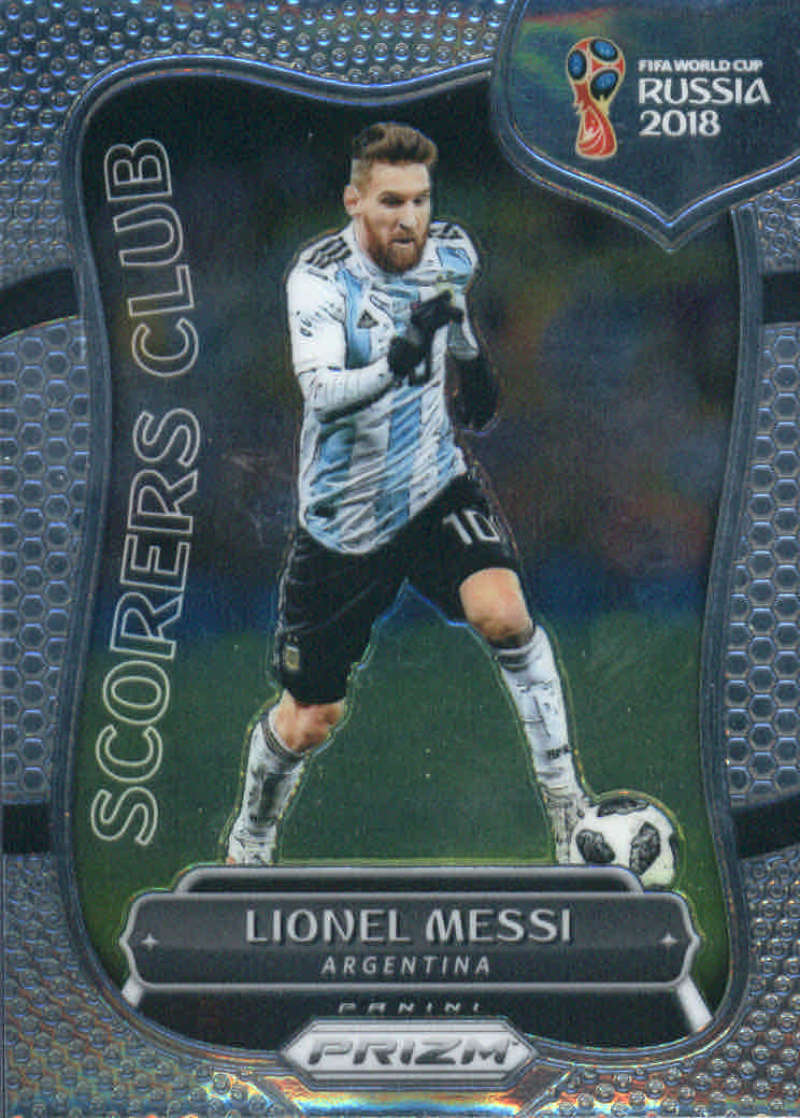 2018 Panini Prizm World Cup Scorers Club