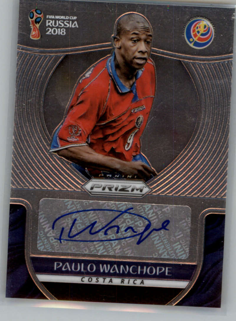 2018 Panini Prizm World Cup Signatures