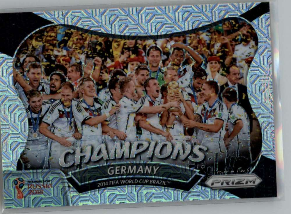 2018 Panini Prizm World Cup World Cup Champions Prizms Mojo