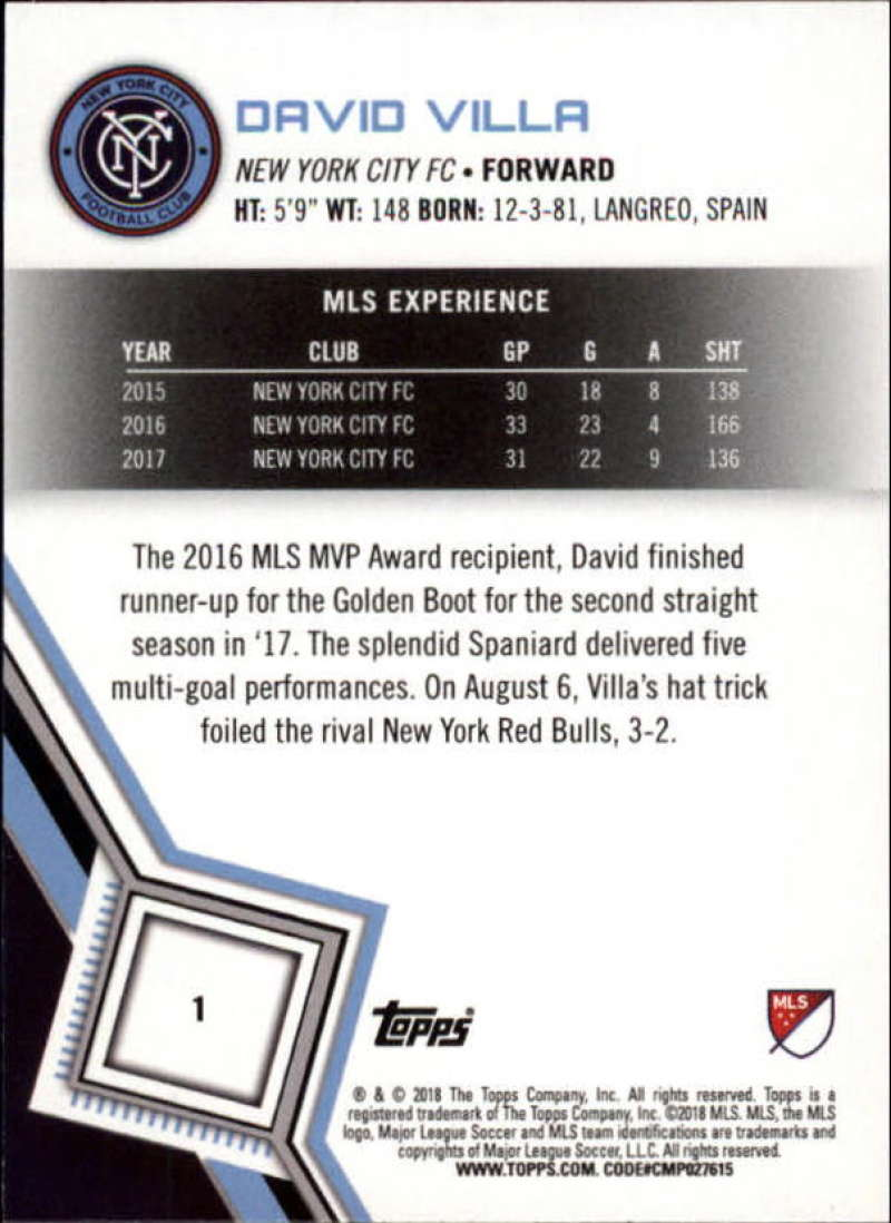 2018-Topps-MLS-Soccer-Base-Set-Cards-Choose-From-Card-039-s-1-200 thumbnail 3