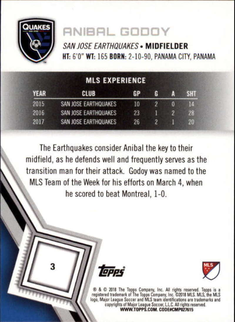 2018-Topps-MLS-Soccer-Base-Set-Cards-Choose-From-Card-039-s-1-200 thumbnail 7