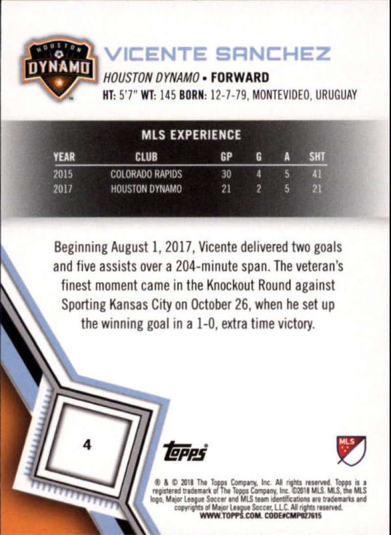 2018-Topps-MLS-Soccer-Base-Set-Cards-Choose-From-Card-039-s-1-200 thumbnail 9