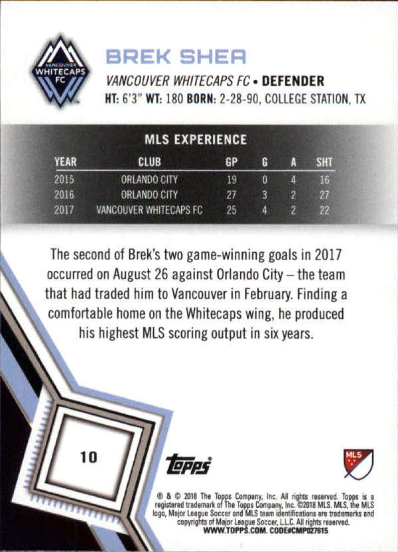 2018-Topps-MLS-Soccer-Base-Set-Cards-Choose-From-Card-039-s-1-200 thumbnail 21