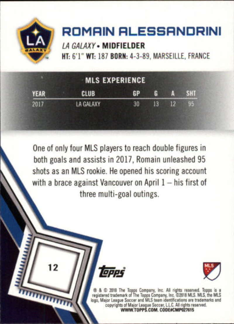 2018-Topps-MLS-Soccer-Base-Set-Cards-Choose-From-Card-039-s-1-200 thumbnail 25