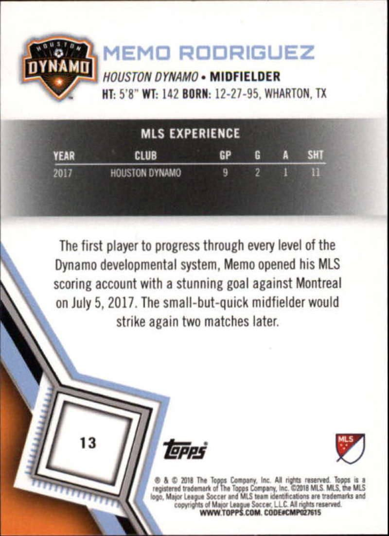 2018-Topps-MLS-Soccer-Base-Set-Cards-Choose-From-Card-039-s-1-200 thumbnail 27