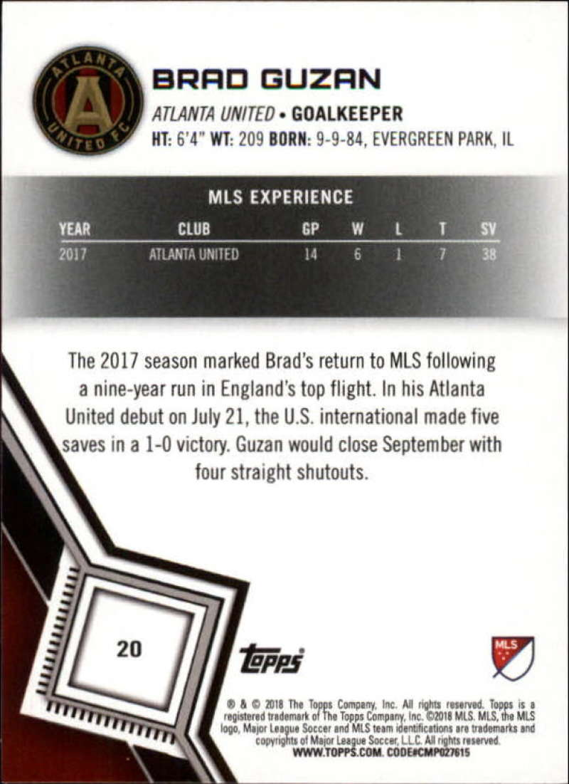 2018-Topps-MLS-Soccer-Base-Set-Cards-Choose-From-Card-039-s-1-200 thumbnail 41