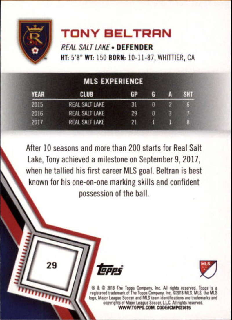 2018-Topps-MLS-Soccer-Base-Set-Cards-Choose-From-Card-039-s-1-200 thumbnail 59