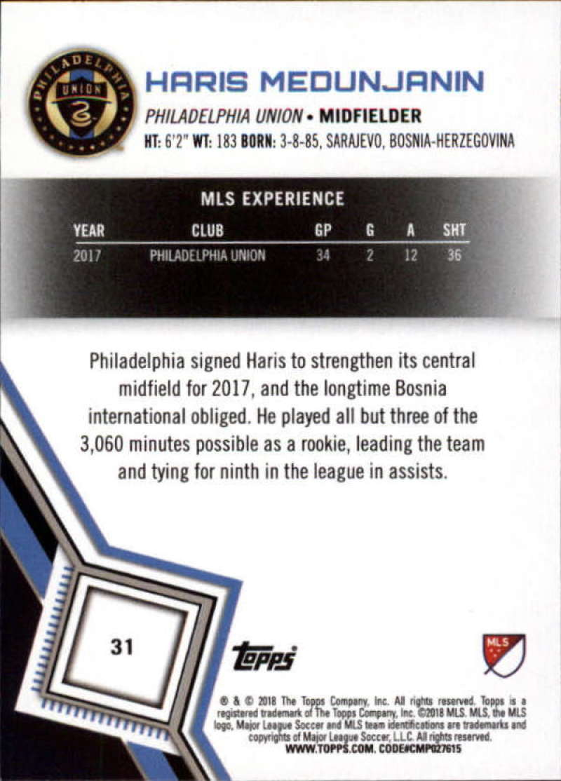 2018-Topps-MLS-Soccer-Base-Set-Cards-Choose-From-Card-039-s-1-200 thumbnail 63