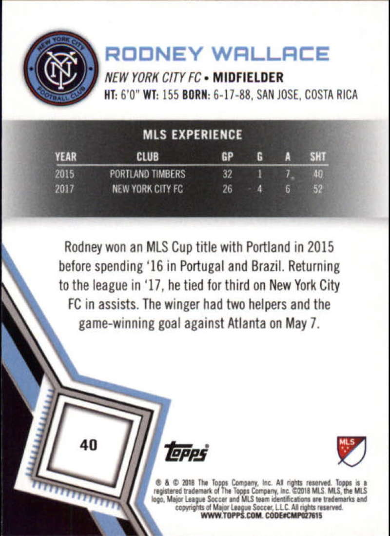 2018-Topps-MLS-Soccer-Base-Set-Cards-Choose-From-Card-039-s-1-200 thumbnail 81