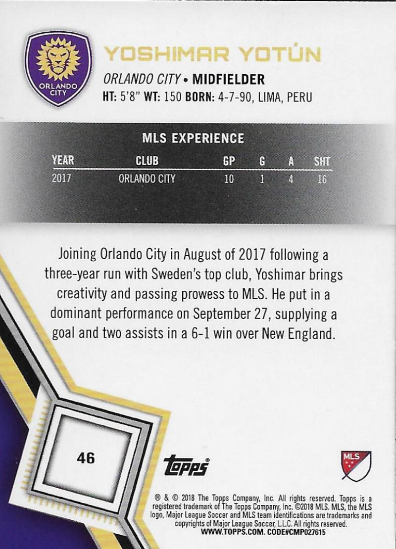 2018-Topps-MLS-Soccer-Base-Set-Cards-Choose-From-Card-039-s-1-200 thumbnail 93
