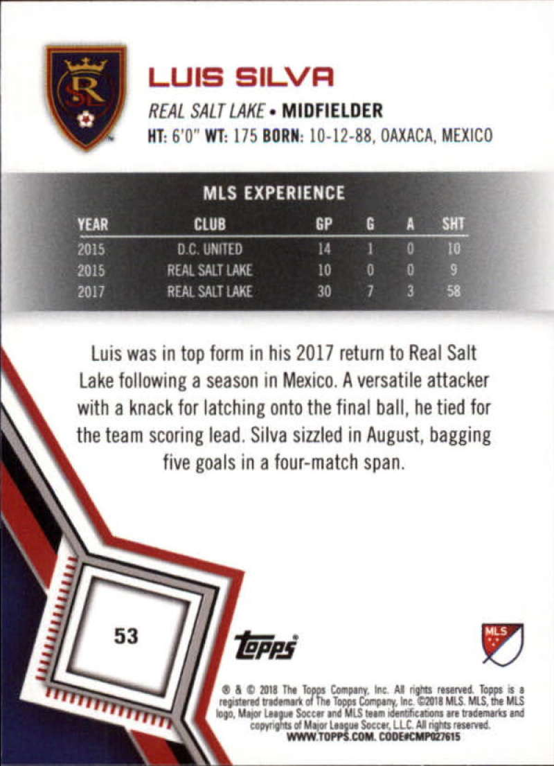 2018-Topps-MLS-Soccer-Base-Set-Cards-Choose-From-Card-039-s-1-200 thumbnail 107