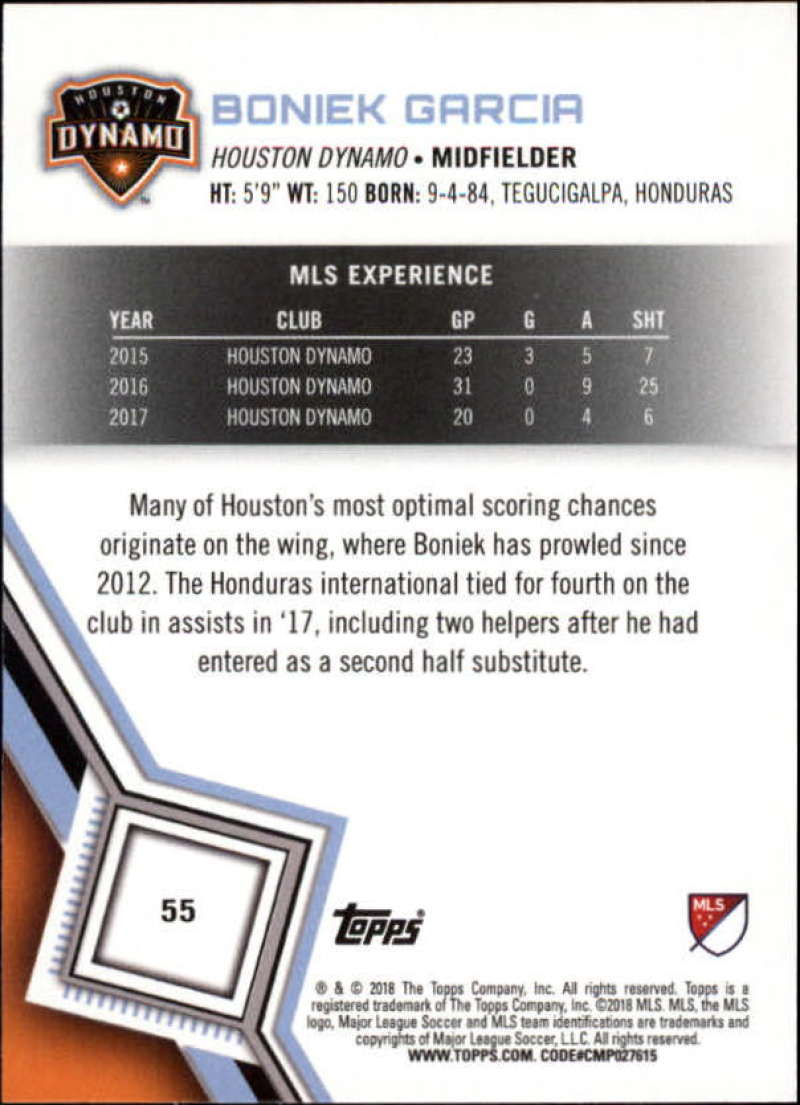 2018-Topps-MLS-Soccer-Base-Set-Cards-Choose-From-Card-039-s-1-200 thumbnail 111