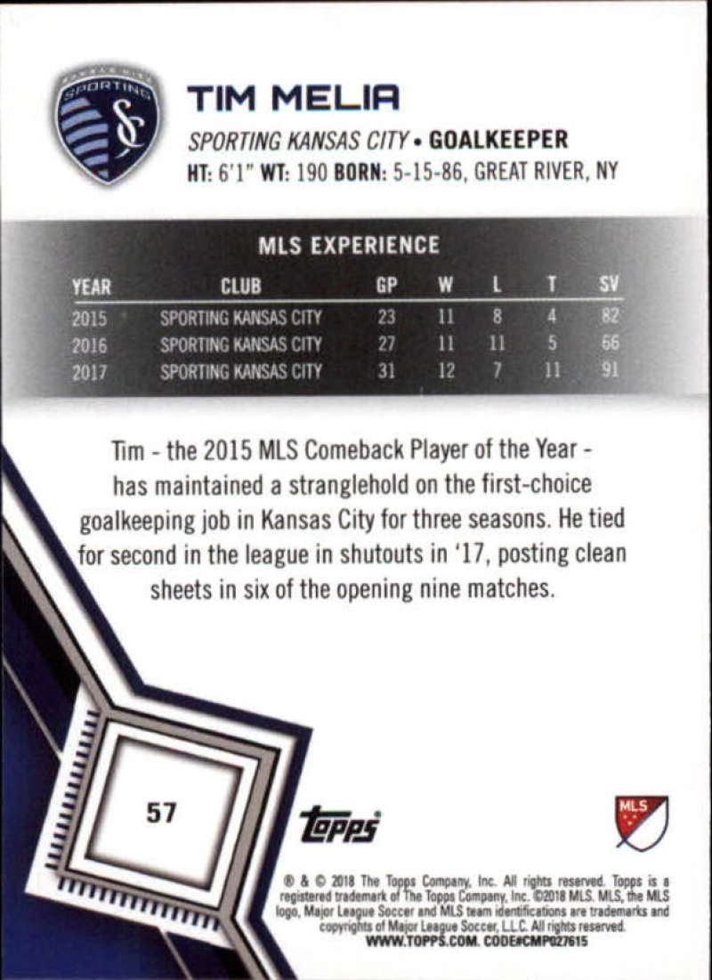2018-Topps-MLS-Soccer-Base-Set-Cards-Choose-From-Card-039-s-1-200 thumbnail 114