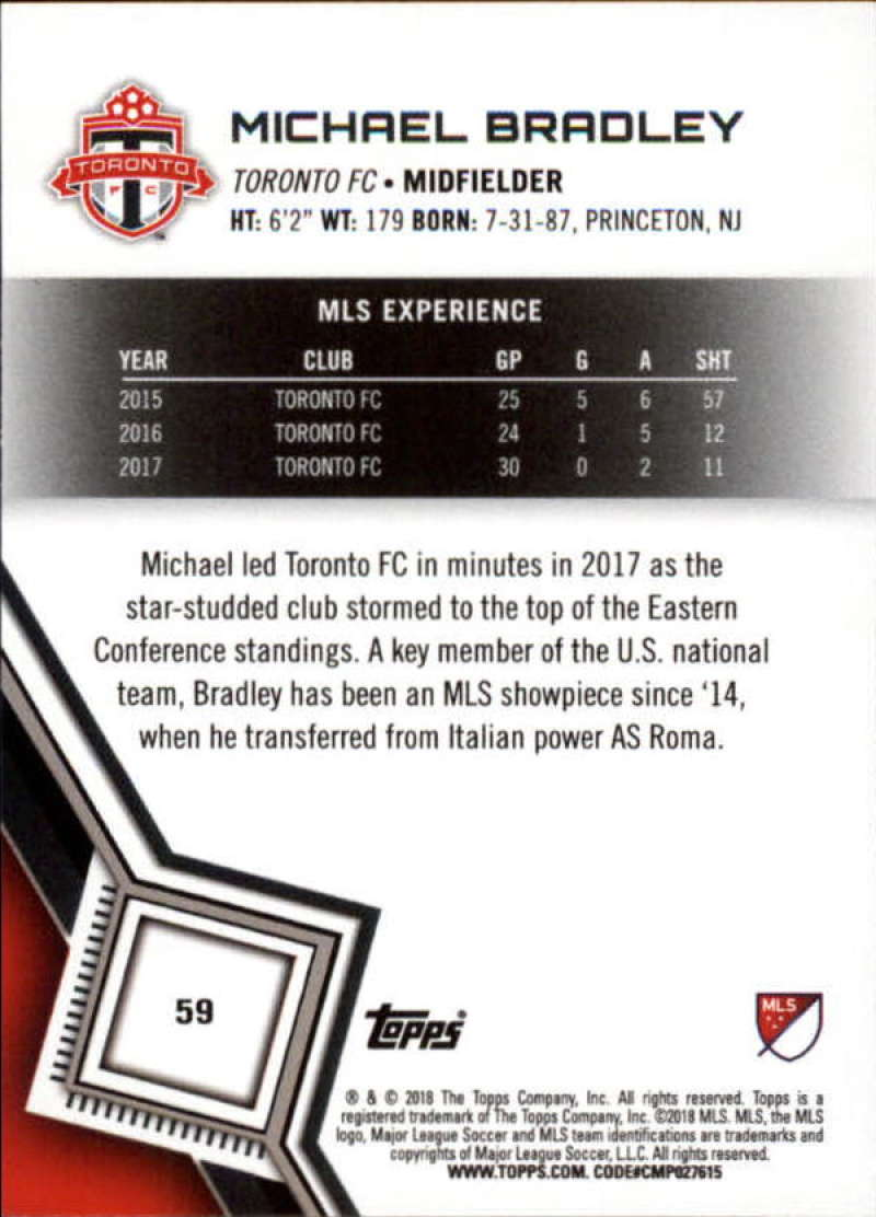 2018-Topps-MLS-Soccer-Base-Set-Cards-Choose-From-Card-039-s-1-200 thumbnail 118
