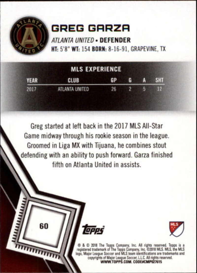 2018-Topps-MLS-Soccer-Base-Set-Cards-Choose-From-Card-039-s-1-200 thumbnail 120