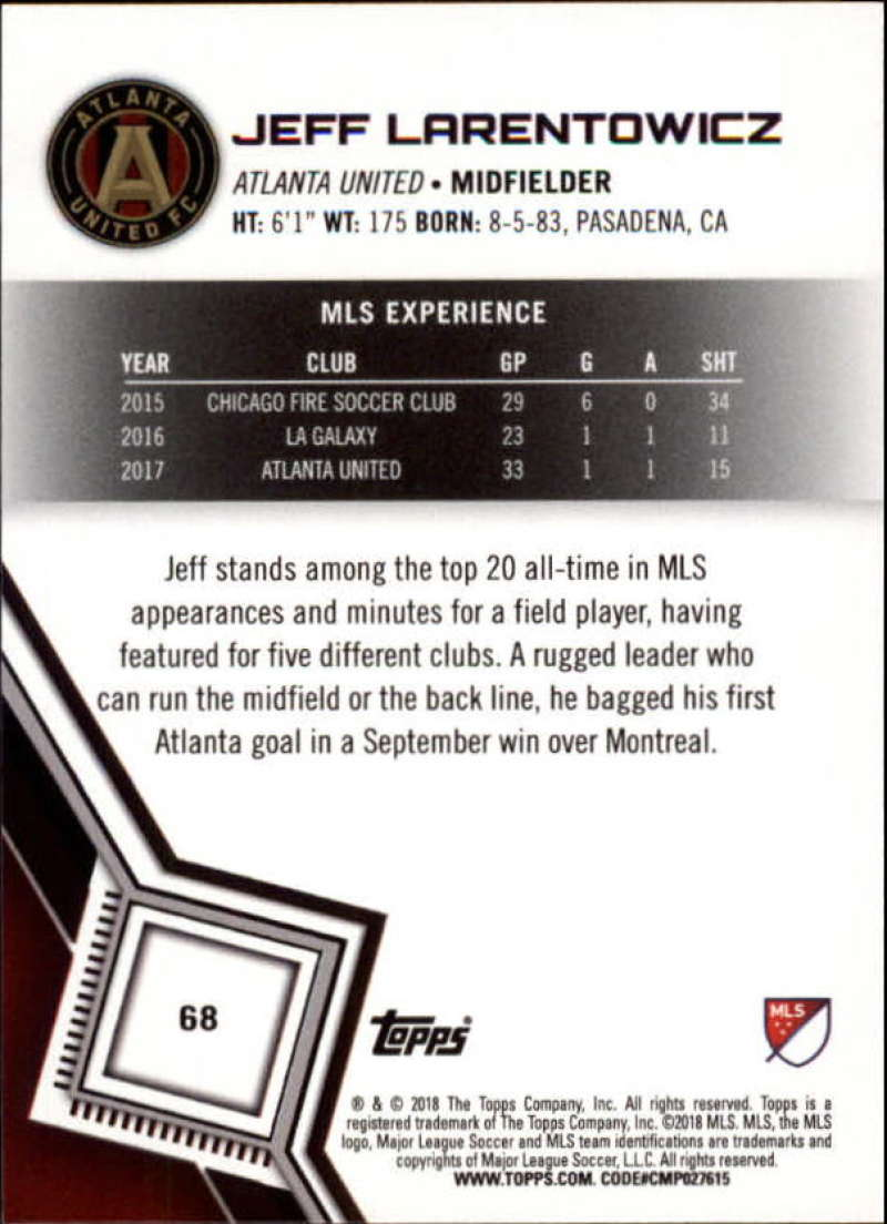 2018-Topps-MLS-Soccer-Base-Set-Cards-Choose-From-Card-039-s-1-200 thumbnail 136