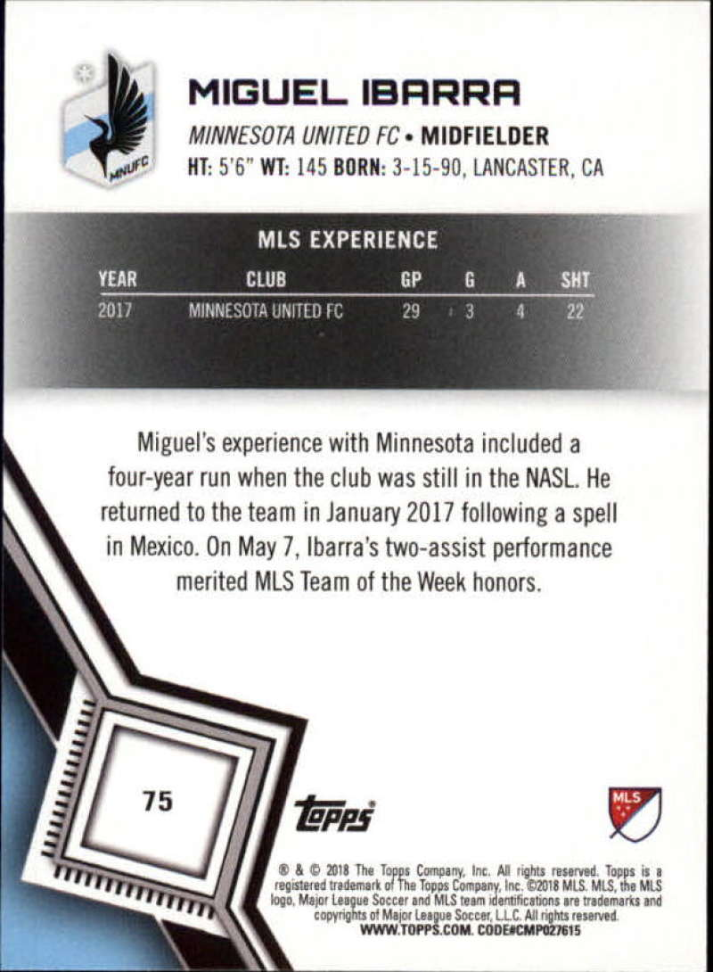 2018-Topps-MLS-Soccer-Base-Set-Cards-Choose-From-Card-039-s-1-200 thumbnail 150