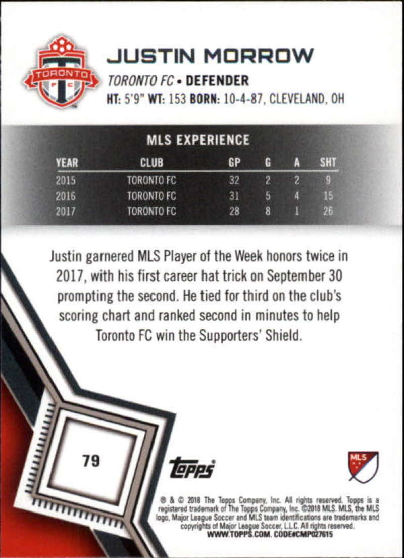 2018-Topps-MLS-Soccer-Base-Set-Cards-Choose-From-Card-039-s-1-200 thumbnail 158