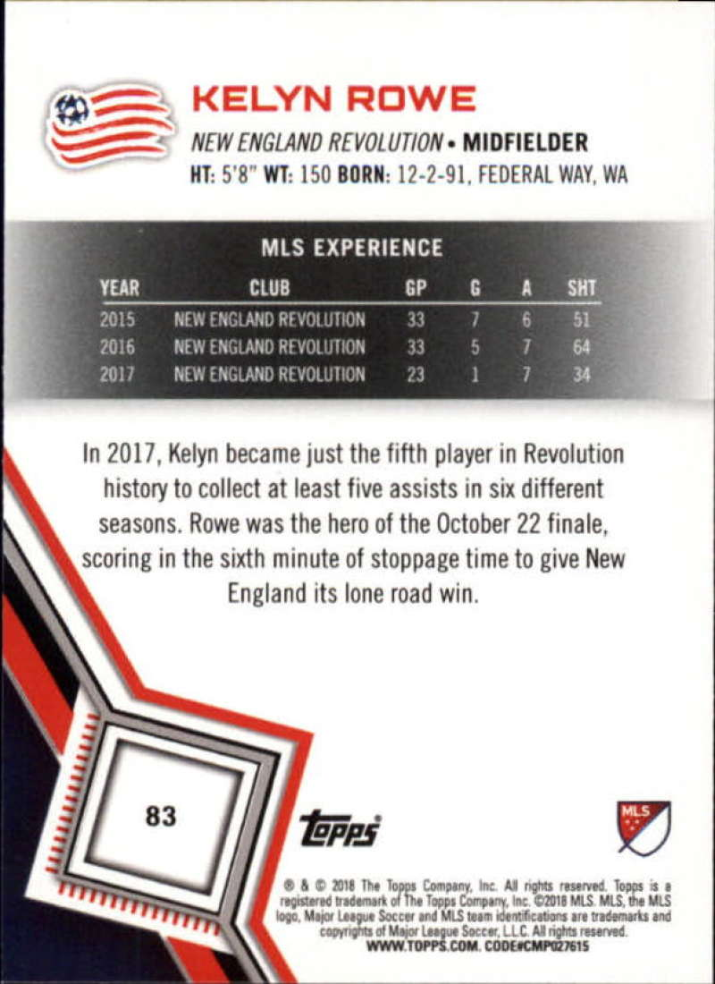 2018-Topps-MLS-Soccer-Base-Set-Cards-Choose-From-Card-039-s-1-200 thumbnail 166