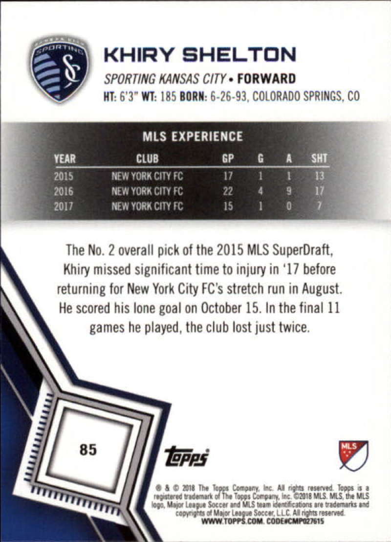 2018-Topps-MLS-Soccer-Base-Set-Cards-Choose-From-Card-039-s-1-200 thumbnail 170