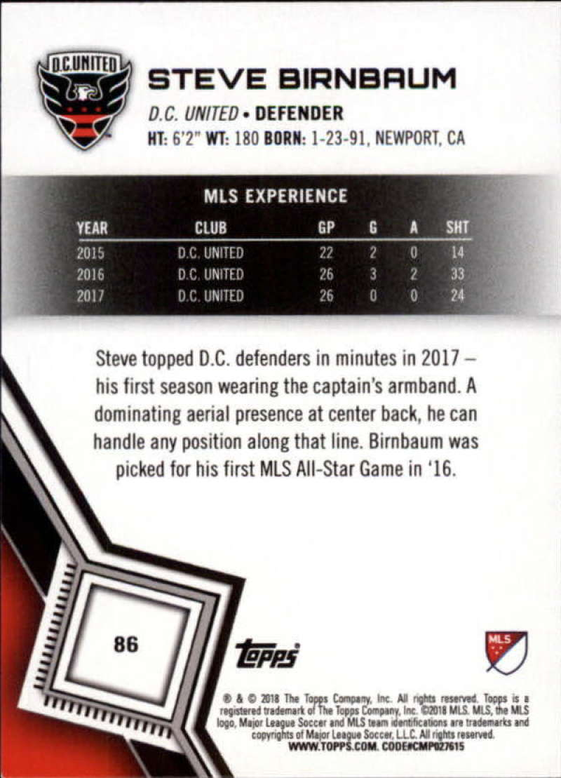 2018-Topps-MLS-Soccer-Base-Set-Cards-Choose-From-Card-039-s-1-200 thumbnail 172