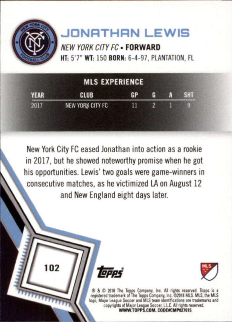 2018-Topps-MLS-Soccer-Base-Set-Cards-Choose-From-Card-039-s-1-200 thumbnail 204