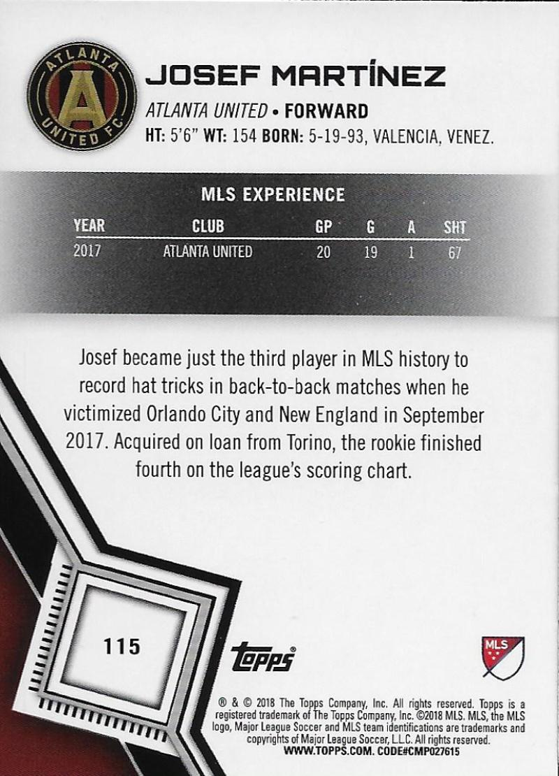 2018-Topps-MLS-Soccer-Base-Set-Cards-Choose-From-Card-039-s-1-200 thumbnail 230