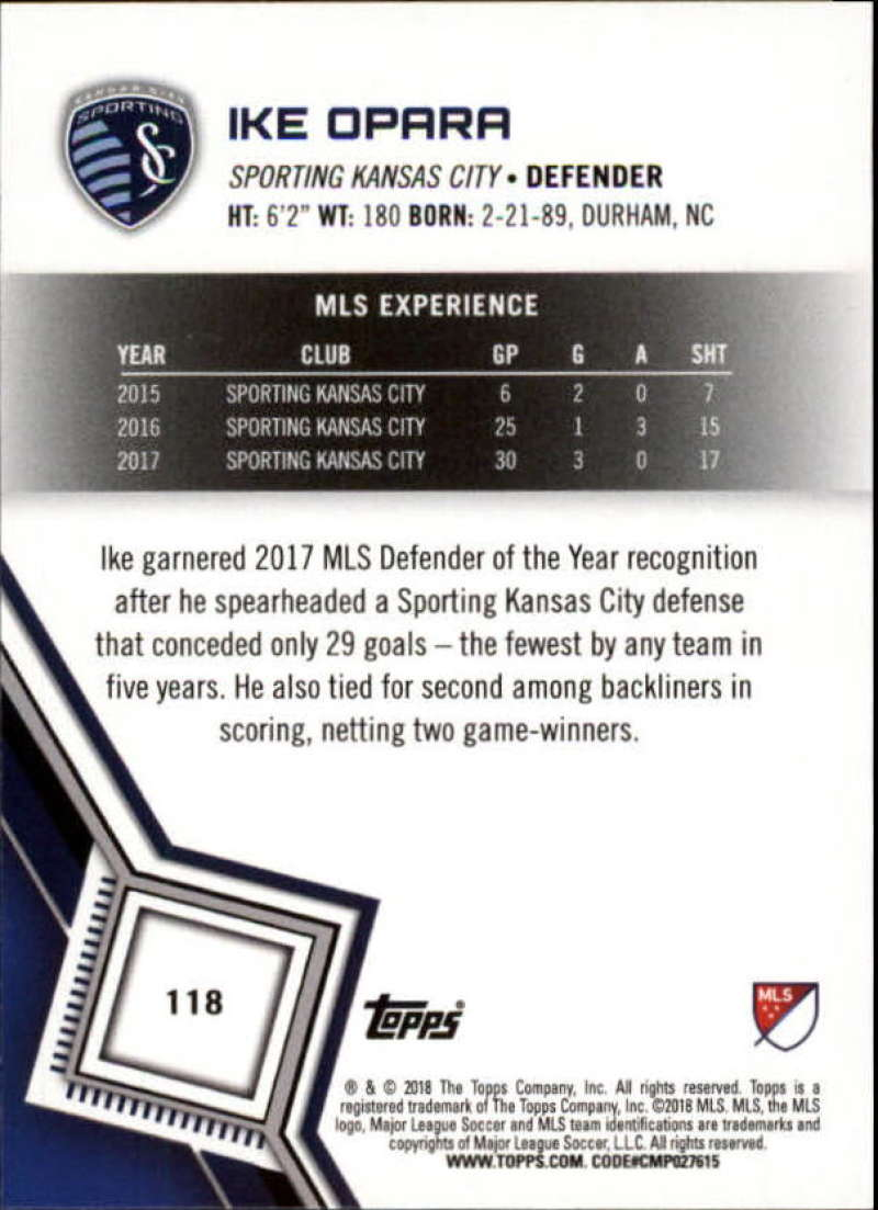 2018-Topps-MLS-Soccer-Base-Set-Cards-Choose-From-Card-039-s-1-200 thumbnail 236