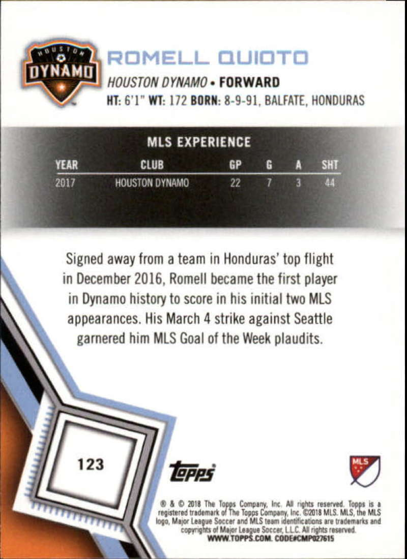 2018-Topps-MLS-Soccer-Base-Set-Cards-Choose-From-Card-039-s-1-200 thumbnail 246