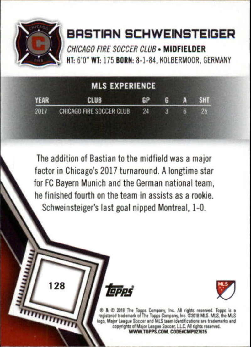 2018-Topps-MLS-Soccer-Base-Set-Cards-Choose-From-Card-039-s-1-200 thumbnail 254
