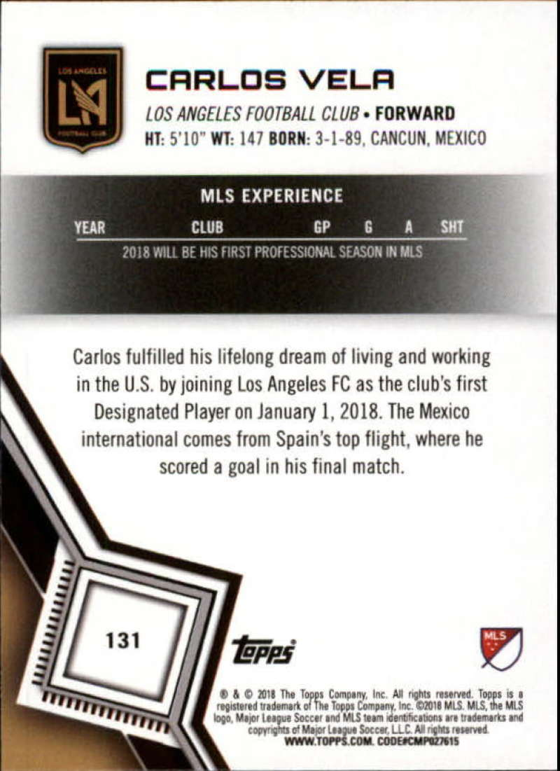 2018-Topps-MLS-Soccer-Base-Set-Cards-Choose-From-Card-039-s-1-200 thumbnail 260