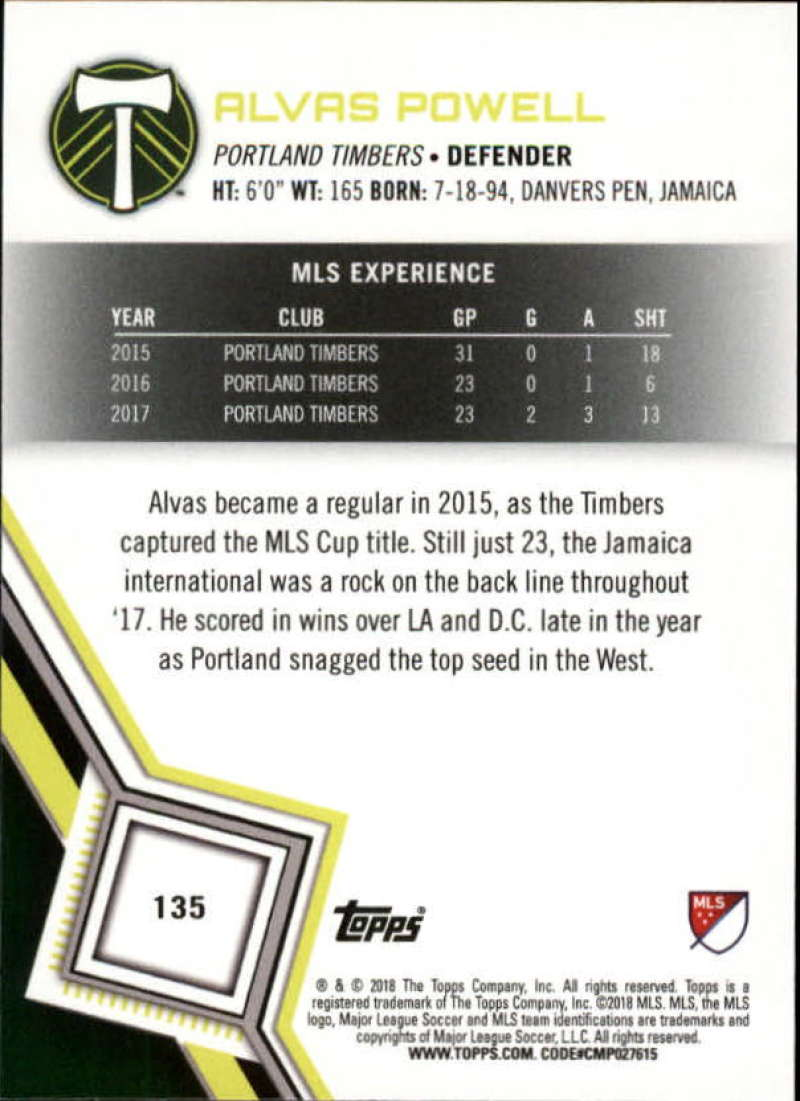 2018-Topps-MLS-Soccer-Base-Set-Cards-Choose-From-Card-039-s-1-200 thumbnail 268