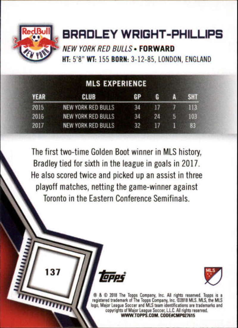 2018-Topps-MLS-Soccer-Base-Set-Cards-Choose-From-Card-039-s-1-200 thumbnail 272