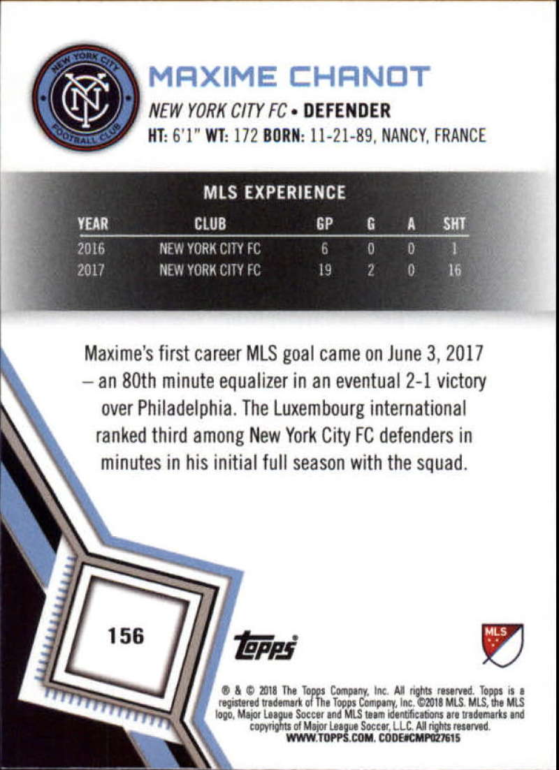 2018-Topps-MLS-Soccer-Base-Set-Cards-Choose-From-Card-039-s-1-200 thumbnail 310