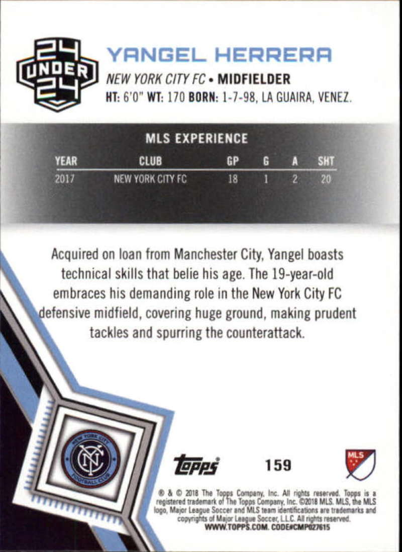 2018-Topps-MLS-Soccer-Base-Set-Cards-Choose-From-Card-039-s-1-200 thumbnail 316